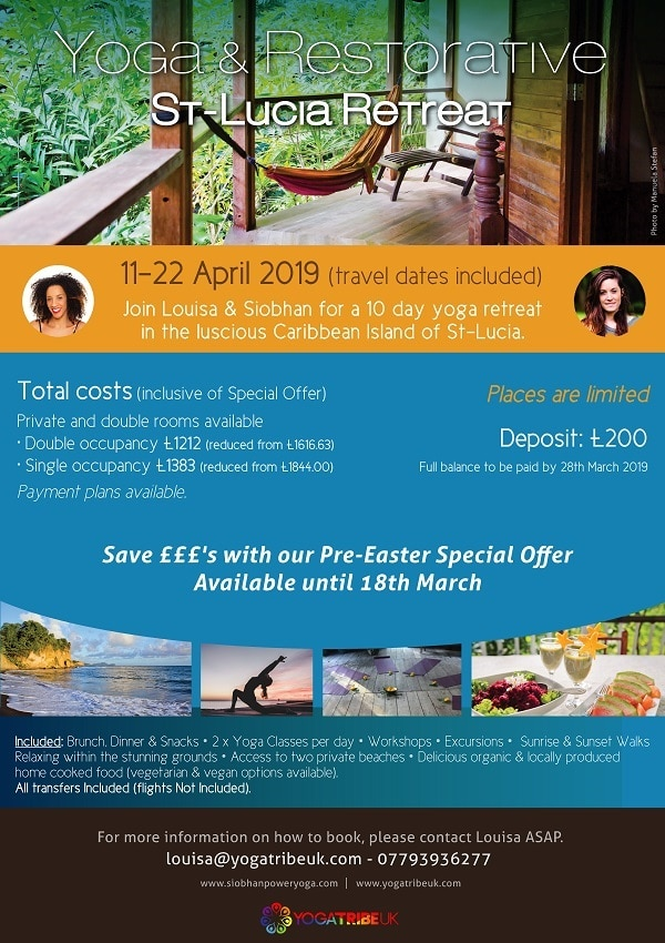 yoga tribe rst lucia etreat