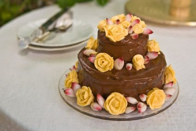 st lucia wedding cake
