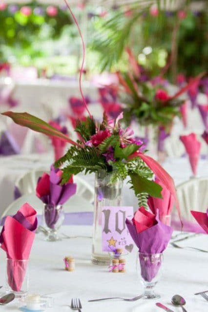 st lucia wedding venue decor