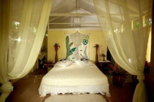 st lucia cottages frangipani bedroom