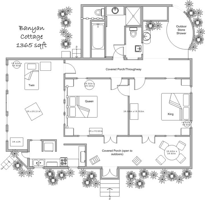 banyan cottage floor plan