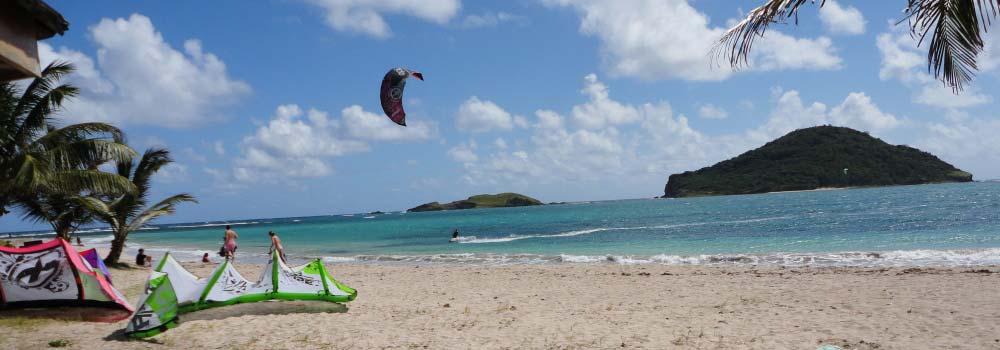 kite-surfing-st-lucia