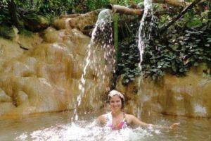 st lucia new jerusalem waterfall