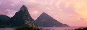 st lucia facts pitons