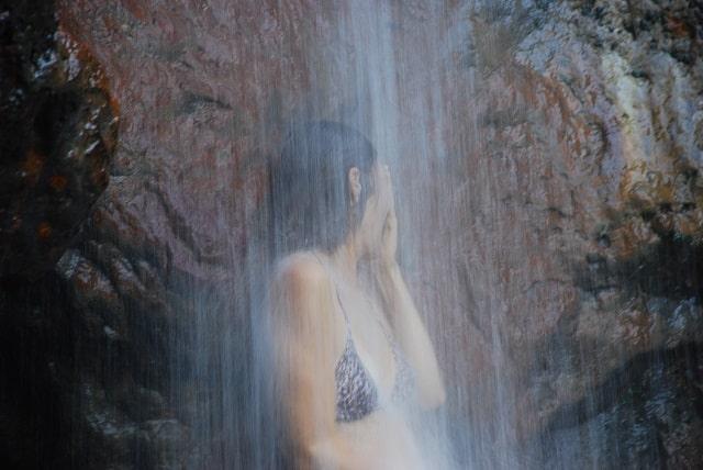 sapphire waterfall