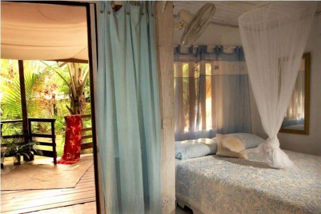 calabash cottage bedroom view