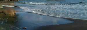 st lucia black sand beach