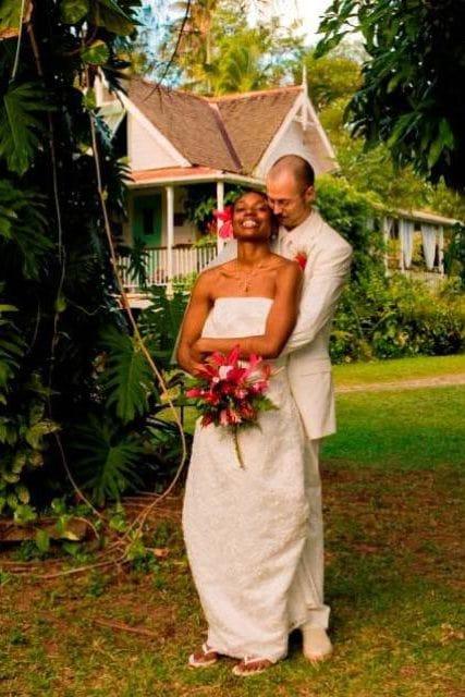 newlyweds balenbouche st lucia
