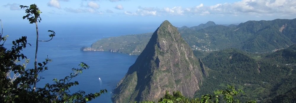 st lucia pitons hike